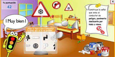 Construye señales - educación vial para niños