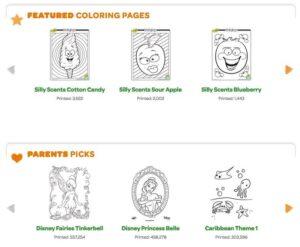 Webs para descargar plantillas para colorear en Infantil y Primaria 12