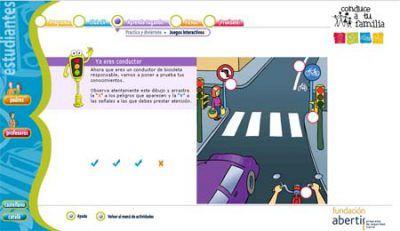 Un programa de educación viaria para niños