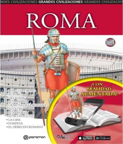 Roma, libros con realidad aumentada