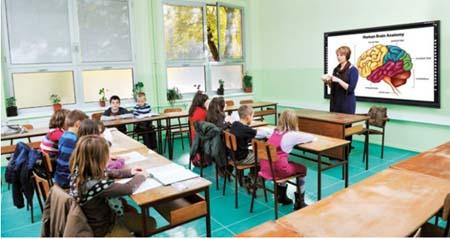Monitores interactivos Starboard para el aula 1