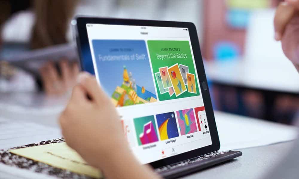 swift playgrounds app para educacion