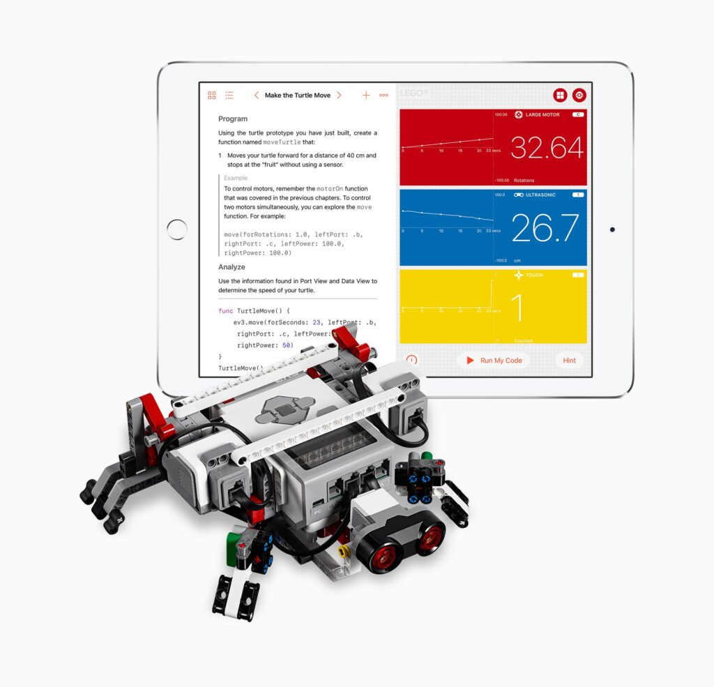 Swift Playgrounds y LEGO MindStorms EV3
