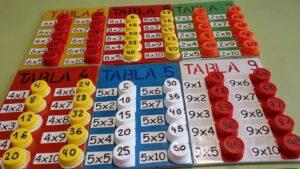 Ideas DIY para aprender las tablas de multiplicar de forma manipulativa 12