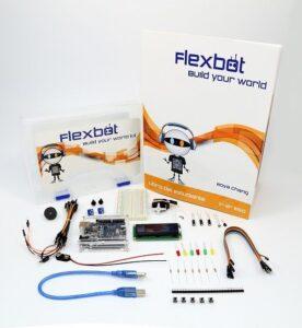 Kits de robótica de Flexbot para alumnos de Primaria y Secundaria 4