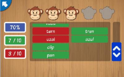 Palabras en español para niños: leer y escribir