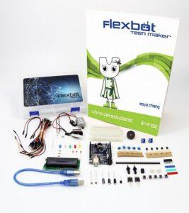 Kits de robótica de Flexbot para alumnos de Primaria y Secundaria 6