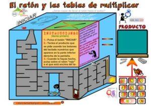 45 juegos interactivos para repasar las tablas de multiplicar 32