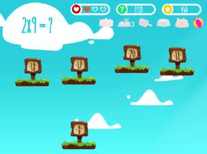 45 juegos interactivos para repasar las tablas de multiplicar 39