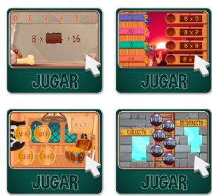 45 juegos interactivos para repasar las tablas de multiplicar 42