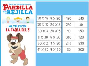 45 juegos interactivos para repasar las tablas de multiplicar 41
