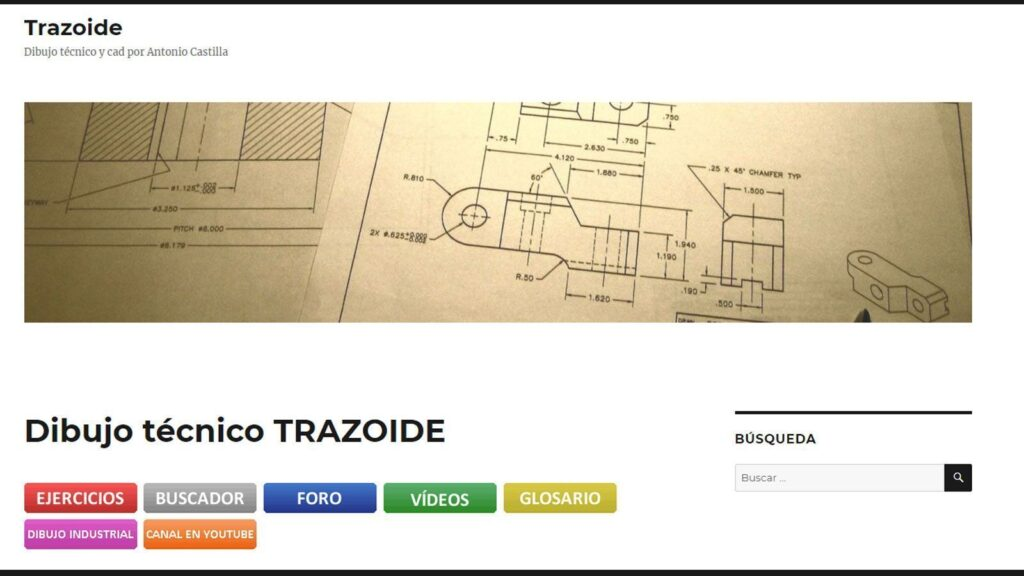 Blog de Dibujo Técnico Trazoide