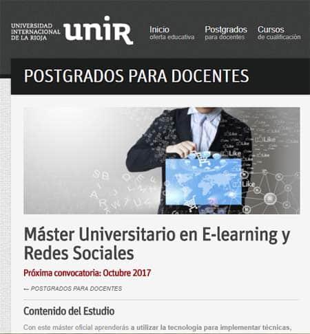 unir master