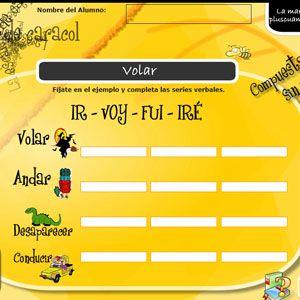 Tiempos verbales: 20 recursos para Primaria 15