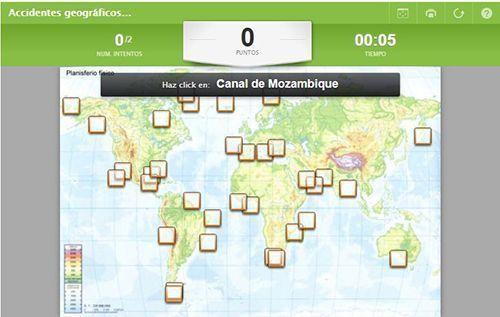 Recursos para Geografía: interactivos para aprender y repasar