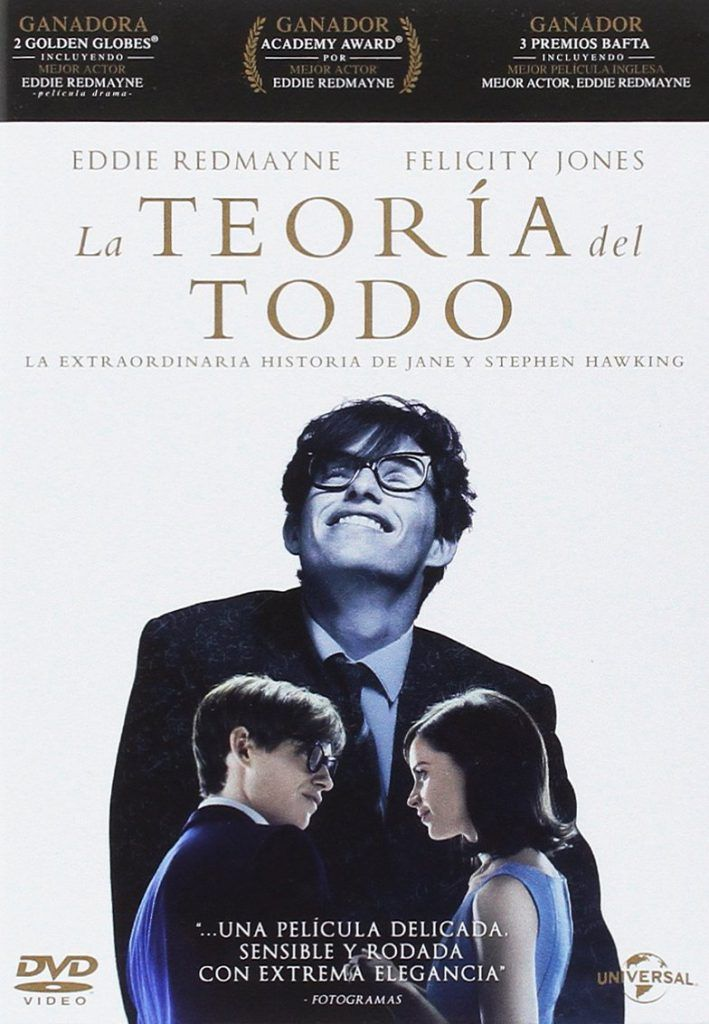 Los actores Eddie Redmayne y Felicity Jones encabezan el reparto de este  largometraje que relata la vida del científico británico Stephen Hawking. eaf0107eb602