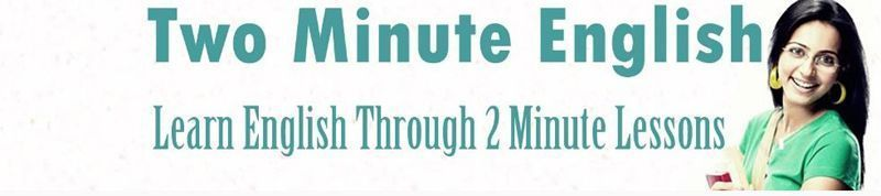 Two Minute English