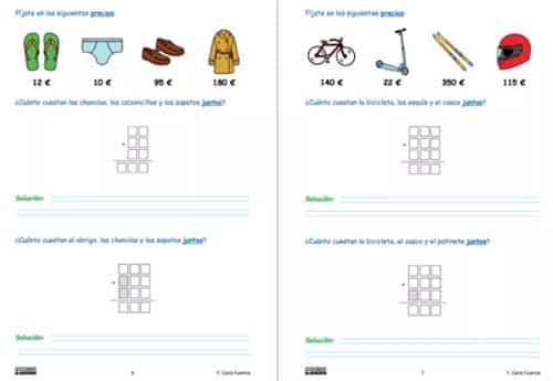 Matemáticas niños con autismo
