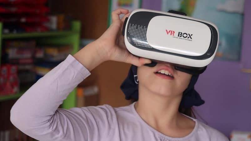 Experiencia con realidad virtual