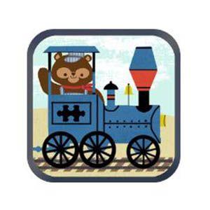 Juego de tren para niños