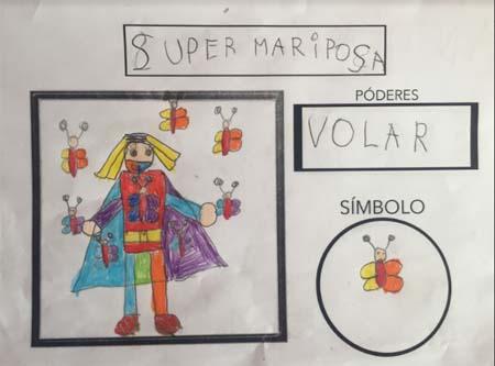 Alumnos de CEIP Balaídos (Vigo) protagonizan un cómic de superhéroes con fines solidarios 2