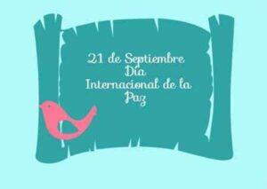 Recursos para celebrar el Día Internacional de la Paz 5