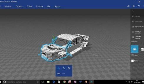 Alumnos de Secundaria diseñan su propio coche en 3D con Microsoft 3
