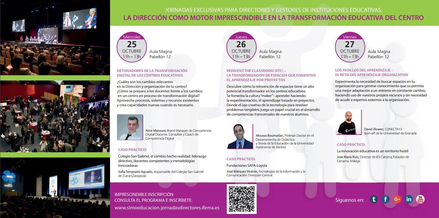 Jornadas directores SIMO EDUCACIÓN