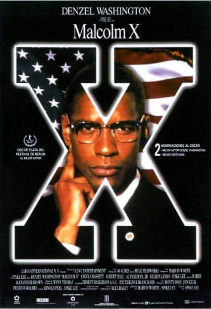 película Malcom X: racismo y xenofobia