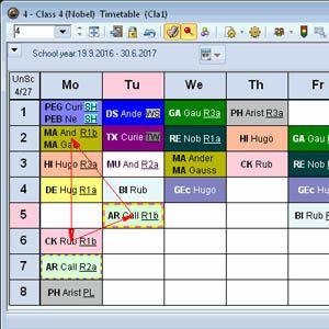13 herramientas para elaborar los horarios del centro escolar 14