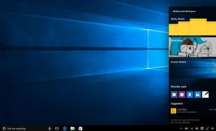 Microsoft potencia el uso del 'stylus' con Windows Ink 1