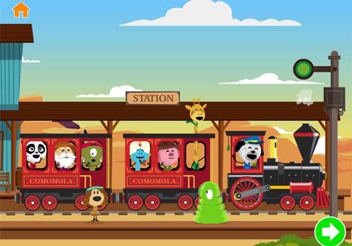 Aplicación infantil Comomola Train