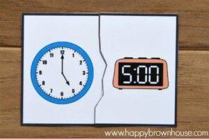 Recursos para aprender las horas del reloj 5