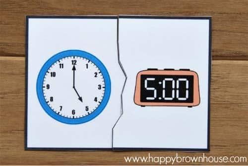 Aprender las horas happybrownhose.com