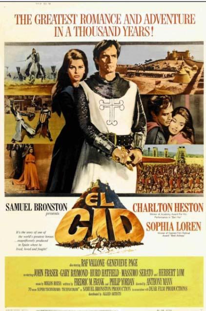 El Cid - películas Edad Media