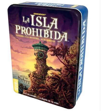 juegos de mesa educativos La isla prohibida
