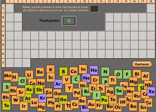 Recopilamos los mejores juegos para aprender fsica y qumica puzle de la tabla peridica urtaz Gallery