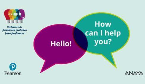 La colaboración en clase de inglés: tercer webinar de formación de Pearson y Anaya 3