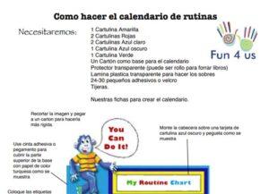 Recursos para las rutinas diarias de los alumnos de Infantil 1