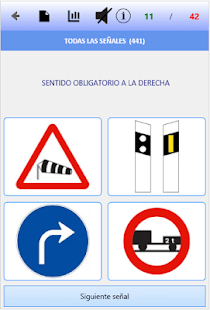 Test de señales de tráfico