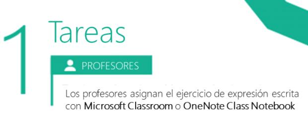 tareas para mejorar la escritura con Microsoft