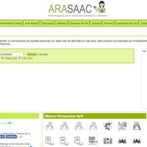 Portal Aragonés de la Comunicación Aumentativa y Alternativa (ARASAAC)