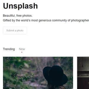 unsplash bancos de imágenes gratuitos