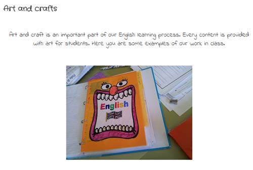 Blog our English Class