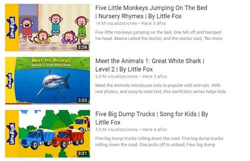 YouTube Little fox kids