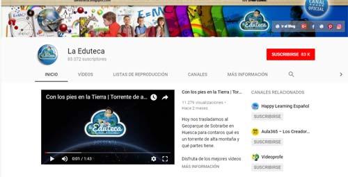 YouTube eduteca