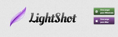 Capturas de pantalla LightShot