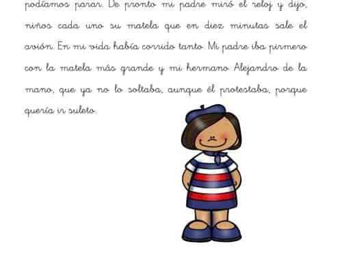 Mi viaje a París, un cuento para niños con dislexia