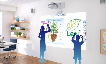 Aprendizaje colaborativo con los proyectores interactivos de Epson 1