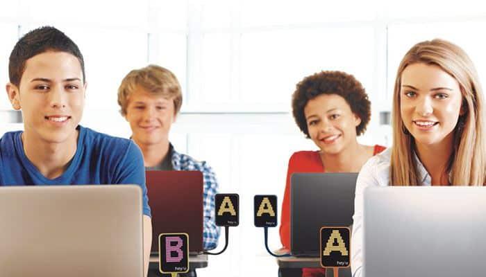 hey!u, el dispositivo de hey!tech para hacer las clases más participativas